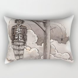 Captain Kidd Rectangular Pillow