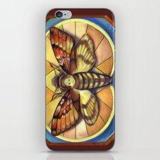 Deaths Head Moth iPhone & iPod Skin