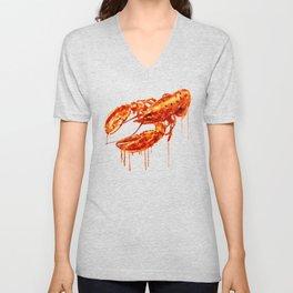 Crawfish Unisex V-Neck