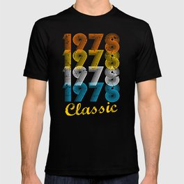 39th Birthday Gift Vintage 1978 T-Shirt for Men & Women T-Shirts and Hoodies T-shirt