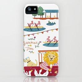 The Fantastic British Summer No.1 iPhone Case