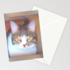 Golden Eyes Stationery Cards