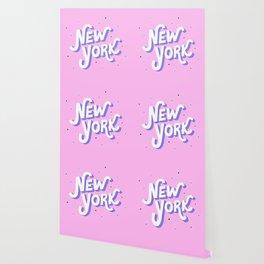 Aesthetic New York Hand Lettering Wallpaper