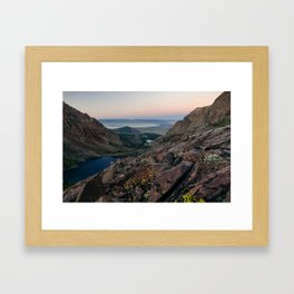 Mono Pass, CA Framed Art Print
