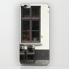Closed Cafe No.2 iPhone Skin