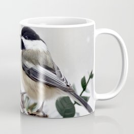 Winter Chickadee Coffee Mug