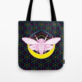 Geometric Cicada Tote Bag