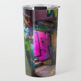 Leake Street London Graffiti  Travel Mug