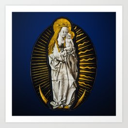 Virgin of the Apocalypse Art Print