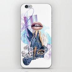 Zebra Kiss iPhone & iPod Skin