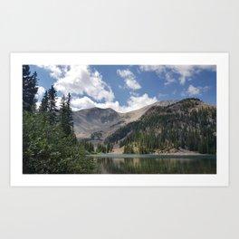 Thomas Lake, Mt. Sopris Art Print