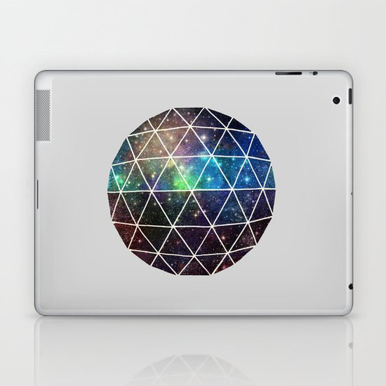 Space Geodesic Laptop & iPad Skin