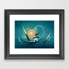 Little Witch 3 Framed Art Print