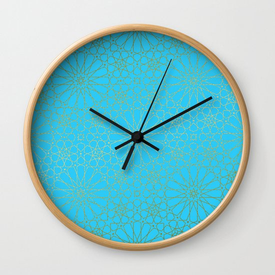 Moroccan Nights - Gold Teal Mandala Pattern - Mix & Match with Simplicity of Life by simplicity_of_live