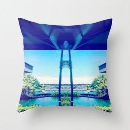 big island Throw Pillow