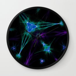 Pure Exclusion Wall Clock