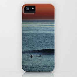 The Last Wave iPhone Case