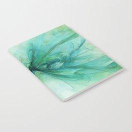 Butterfly Blue Notebook