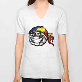 Football - Romania Unisex V-Neck