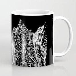 'Mountain Lines' Coffee Mug
