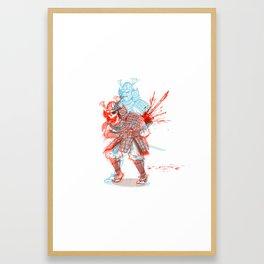 HARAKIRI Framed Art Print