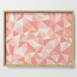 Ab Out Blush Gold Serving Tray