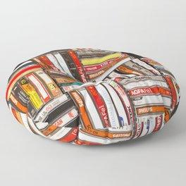Something Nostalgic - III - Colored Version #decor #society6 #buyart Floor Pillow