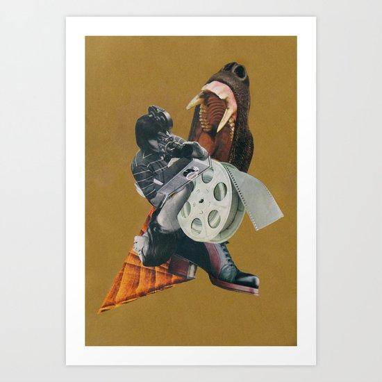 the pressure of inspiration Art Print