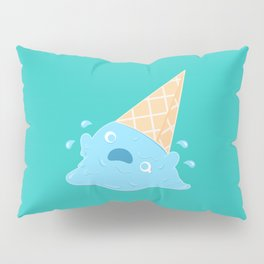 Dessert Death - Melting Ice Cream Pillow Sham