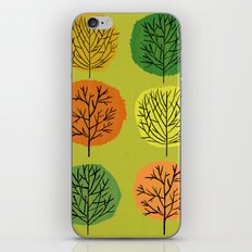 Tidy Trees All In Pretty Rows iPhone & iPod Skin
