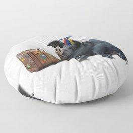 Might (Wordless) Floor Pillow