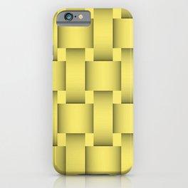 Lemon Weave iPhone Case