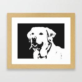 Lab Love Framed Art Print