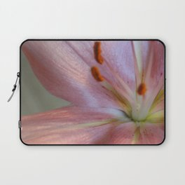 up close and personal - pink lily Laptop Sleeve