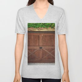 Door and Ivy Backdrop Unisex V-Neck