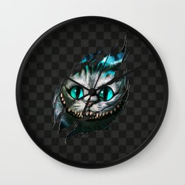 Chesire - Smile Wall Clock