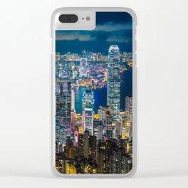 HONG KONG 10 Clear iPhone Case