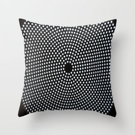 The old post office ceiling Throw Pillow