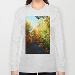 Into the Fall Forest Long Sleeve T-shirt