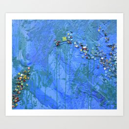 Layered Texture Art Print