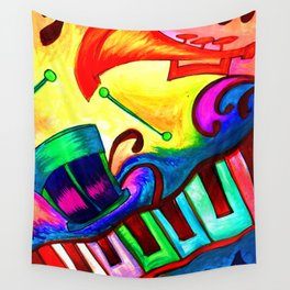 Music in color Wall Tapestry
