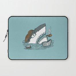 The Dad Shark Laptop Sleeve