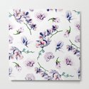 Lavender Blossom Floral Pattern by naturemagick