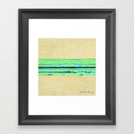 Modern Movement 001 - Signed - Abstract Landscape Canvas Art - Comforters - Bedding - Metal Prints Framed Art Print