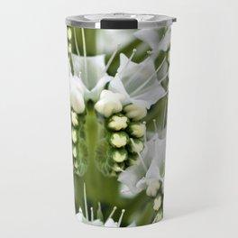 White petals like Snowfall Travel Mug