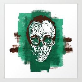 Keith POSTportrait Art Print