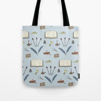 literature Tote Bags featuring Classic Literature by Meghan Hill