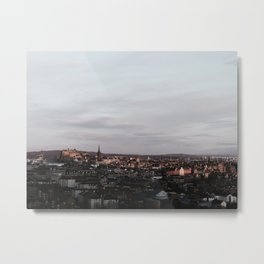 Grand Auld Reekie Metal Print