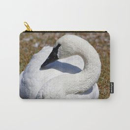 Popular Trumpeter Swan   Wildlife Photography   Birds Carry-All Pouch
