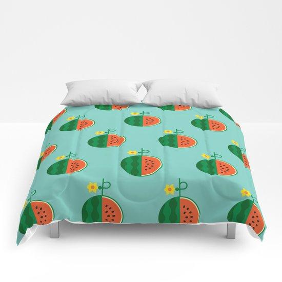 Fruit: Watermelon Comforters